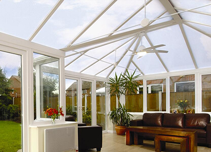 One of our UPVC conservatories