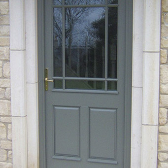 Grey Entrance Door