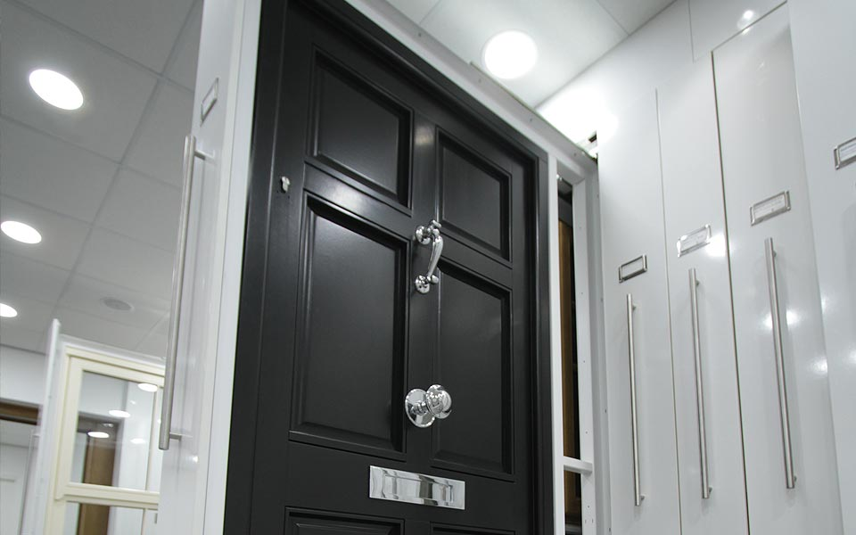 Showroom composite door