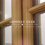Dempsey Dyer's timber look uPVC window